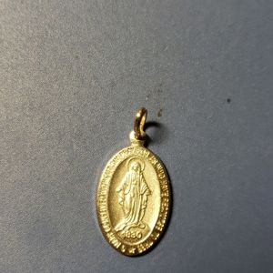 Sterling silver Immaculate Mary